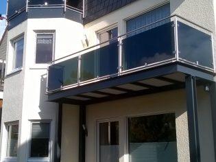 Balkongeländer Edelstahl (BV Leist Berlin) 3